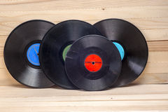 Vinyl record. Copy space for text. Royalty Free Stock Photography