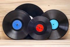 Vinyl record. Copy space for text. Stock Photos