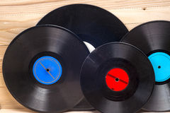 Vinyl record. Copy space for text. Stock Images