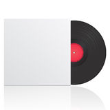 vinyl record in envelope Stock Photography