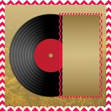 Vinyl record in envelope vector Stock Photos