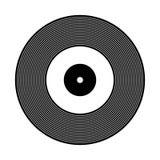 Vinyl record icon. Stock Photo