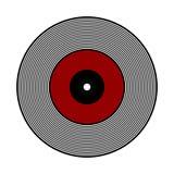 Vinyl record icon. Stock Photography