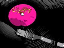 Vinyl Record Illustration Stock Photo