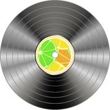 Vinyl record isolated Stock Photos