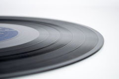 Vinyl record isolated on white background Royalty Free Stock Images