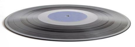 Vinyl record isolated on white background Stock Photo