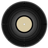 Vinyl record or lp. Vintage vinyl record - vector illustration Stock Photography