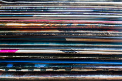 Vinyl record in the package Stock Photography