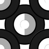 Vinyl record pattern Stock Photo