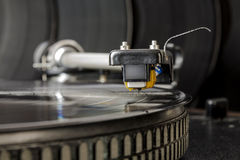 Vinyl record player Royalty Free Stock Images