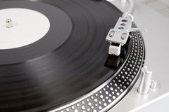 Vinyl record on the player Royalty Free Stock Images
