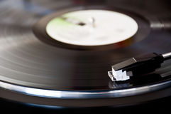 Vinyl record player Royalty Free Stock Photo