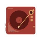 vinyl record player icon royalty free illustration