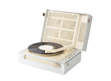 Vinyl record player Royalty Free Stock Image