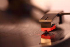 Vinyl record playing B Royalty Free Stock Image