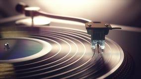 Vinyl Record Retro Vintage stock video footage