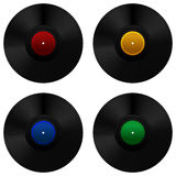 Vinyl record set Stock Images