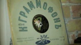 Vinyl record stock video