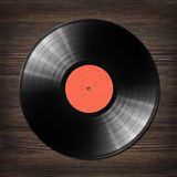 Vinyl record on the table Stock Photography