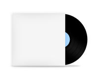 Vinyl record in envelope Royalty Free Stock Photography