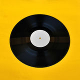 Vinyl record white label promo Royalty Free Stock Photography