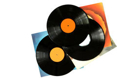 Vinyl Records stock photo