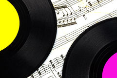 Vinyl records Royalty Free Stock Photos