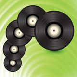 Vinyl records Stock Photography