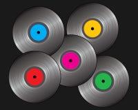 Vinyl records Royalty Free Stock Photography