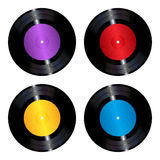 Vinyl records set Stock Image