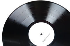 Vinyl Records. With whit label statement Only for Promotion royalty free stock photo