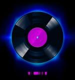 Vinyl schijf vector illustratie