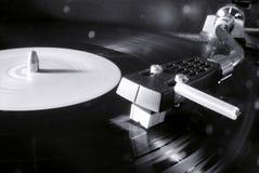 Vinyl schijf stock foto