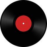 Vinyl schijfillustratie Royalty-vrije Stock Afbeeldingen