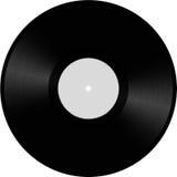 Vinyl schijfillustratie Stock Foto