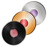 Vinyl_set Photos libres de droits