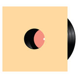 Vinyl with several compositions Royalty Free Stock Photography