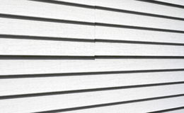 Vinyl siding Royalty Free Stock Photo