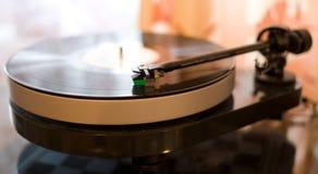 Vinyl speler Stock Foto's