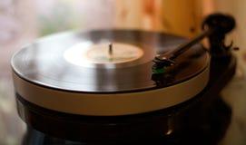 Vinyl speler Royalty-vrije Stock Foto's