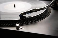 Vinyl speler stock afbeeldingen