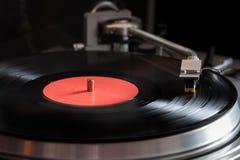 Vinyl speler Royalty-vrije Stock Foto