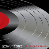Vinyl times Stock Image