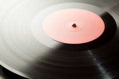 Vinyl turntable Royalty Free Stock Images