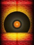 Vinyl verslag. royalty-vrije illustratie