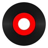 Vinyl Verslag 45 t/min vector illustratie