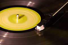 Vinyl verslag Stock Foto