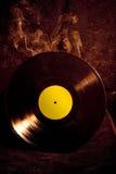 Vinyl verslag en rook Royalty-vrije Stock Foto's