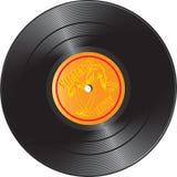 Vinyl verslag met de zomerklappen Stock Foto's